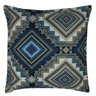 Aliso Creek Throw Pillow Color: Topaz