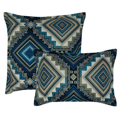 Aliso Creek 2 Piece Combo Pillow Set Color: Topaz