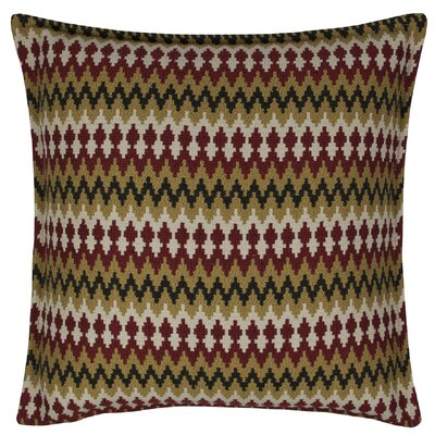 Springlake Throw Pillow Color: Red