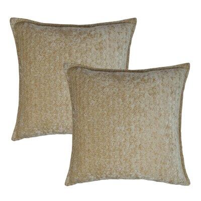 Santa Cruz Throw Pillow Color: Cream