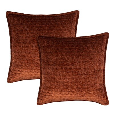 Santa Cruz Throw Pillow Color: Choco