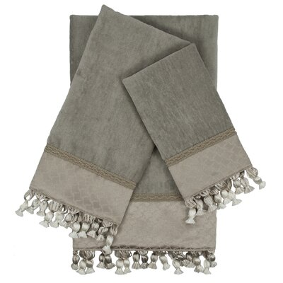Rochdale Embellished 3 Piece Towel Set