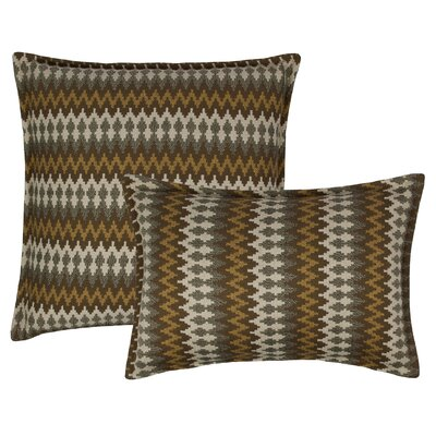 Springlake 2 Piece Combo Pillow Set Color: Taupe