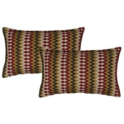 Springlake Boudoir Pillow Color: Red