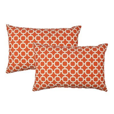 Hockley Outdoor Boudoir Pillow Color: Orange