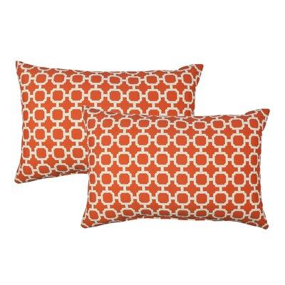 Hockley Outdoor Boudoir Pillow Color: Orange