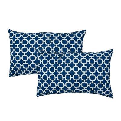 Hockley Outdoor Boudoir Pillow Color: Dark Blue