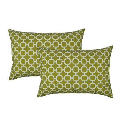 Hockley Outdoor Boudoir Pillow Color: Lime Green