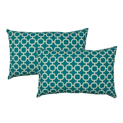 Hockley Outdoor Boudoir Pillow Color: Teal