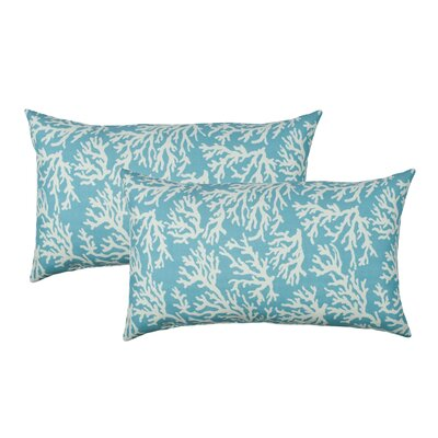 Coral Reef Outdoor Boudoir Pillow