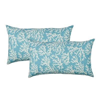 Coral Reef Outdoor Boudoir Pillow SK001053-SBLU