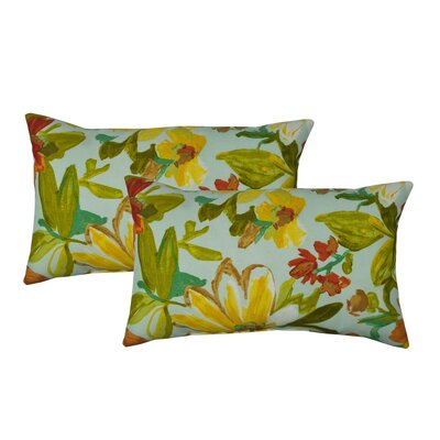 Tropics Outdoor Boudoir Pillow