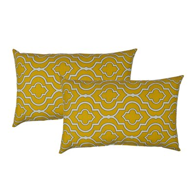 Lattice Outdoor Boudoir Pillow