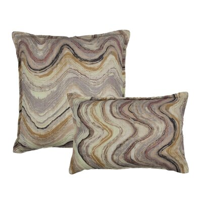 Ipanema Waves 2 Piece Combo Decorative Outdoor Pillow Set
