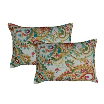 Florabelle Decorative Outdoor Boudoir Pillow