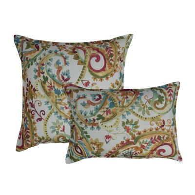 Florabelle 2 Piece Combo Decorative Outdoor Pillow Set