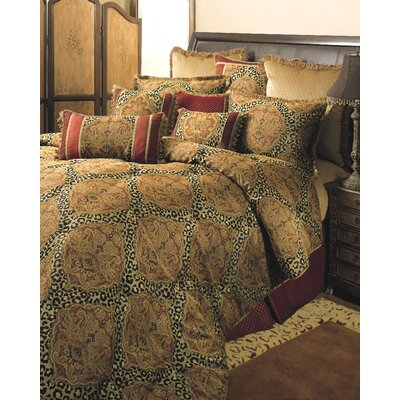 Tangiers 4 Piece Comforter Set Size: King