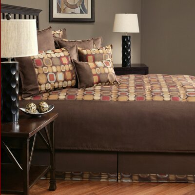 Metro Spice 8 Piece Comforter Set Size: King