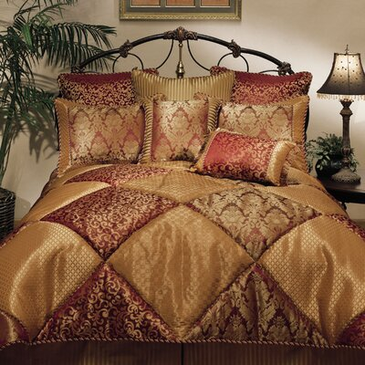 Chateau 8 Piece Comforter Set Size: King