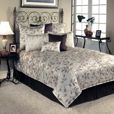 Harmony 8 Piece Comforter Set Size: Queen