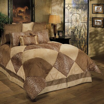 Safari 8-piece Comforter Set Size: King