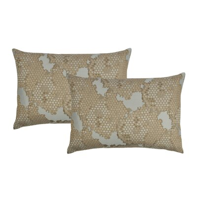 Decorative Lumbar Pillow Color: Gold