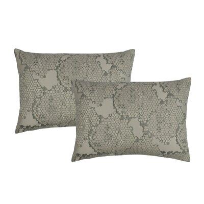 Decorative Lumbar Pillow Color: Gray