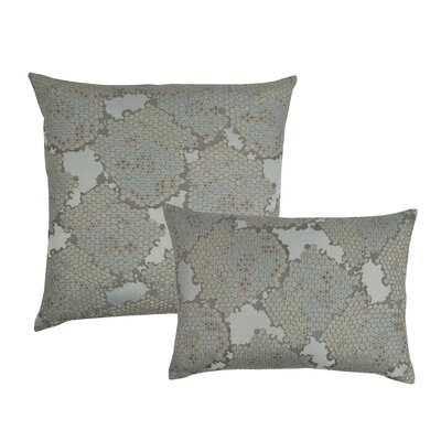 2 Piece Decorative Pillow Set Color: Spa