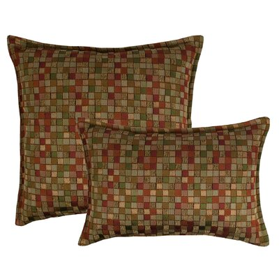 Tetris Multi 2 Piece Decorative Pillow Set