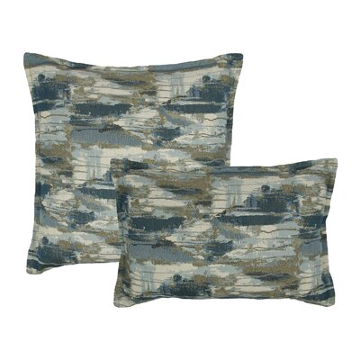 Abstract 2 Piece Pillow Set