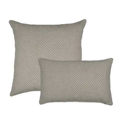 Chevron 2 Piece Chenille Decorative Throw Pillow Set