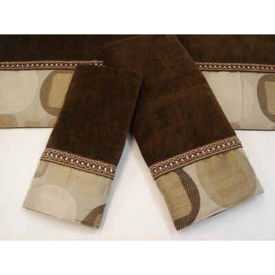Metro Decorative 3 Piece Towel Set Color: Metro Taupe