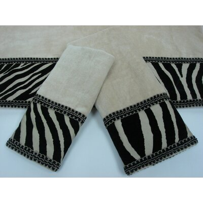 Zuma Decorative 3 Piece Towel Set