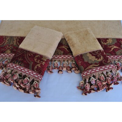 China Art Decorative 3 Piece Towel Set