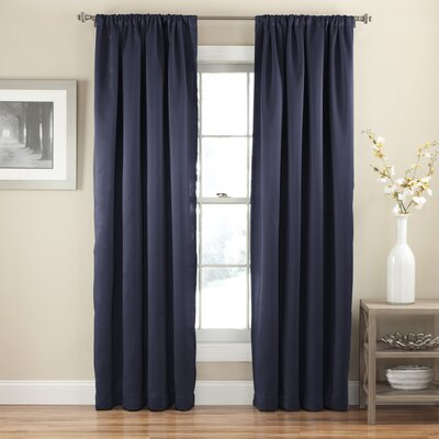 Eclipse Curtains Tricia Thermal Single Curtain Panel - Size: 52