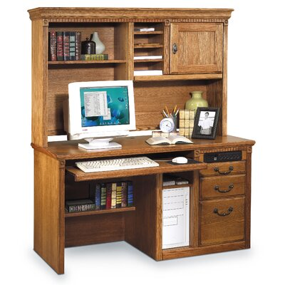 Huntington Oxford 43 H x 69.25 W Desk Hutch Finish: Wheat