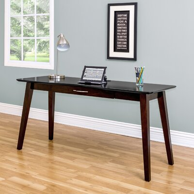 Martin Home Furnishings iNfinity Writing Desk with Keyboard Tray - Finish: Onyx Black at Sears.com