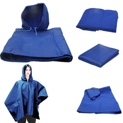 4 in 1 Blanket Color: Blue