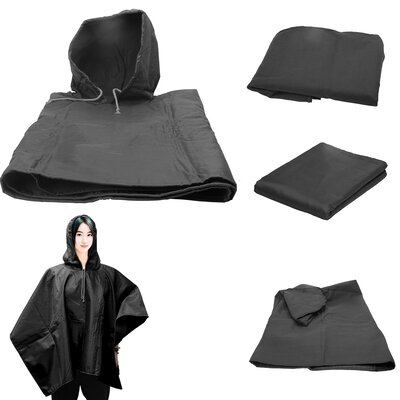 4 in 1 Blanket Color: Black