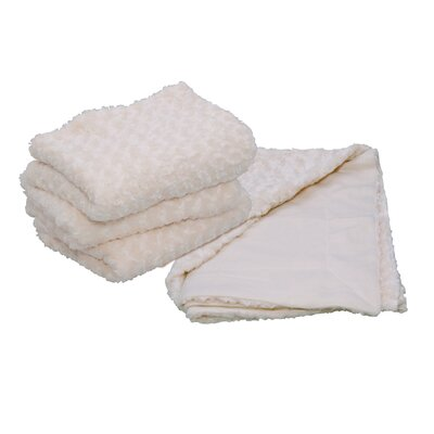 Designer Faux Fur Throw Color: Ivory