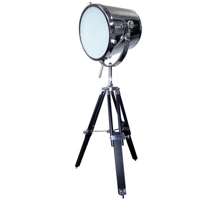 "dainolite Tripod Spotlight 30"" H Table Lamp with Empire Shade"