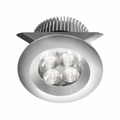 LED Under Cabinet Puck Light Finish: Aluminum
