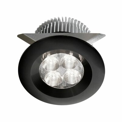 LED Under Cabinet Puck Light Finish: Black
