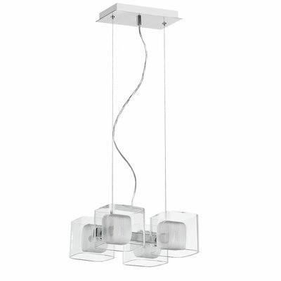 Andree 4-Light Cluster Pendant