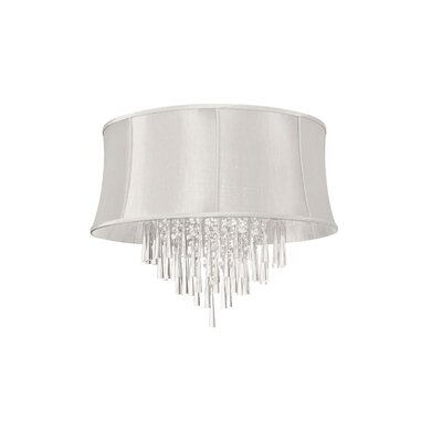 Ranae 8-Light Crystal Flush Mount