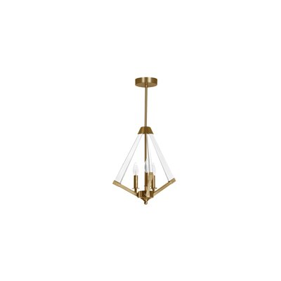 Meadow Lane 3-Light Mini Chandelier Finish: Vintage Bronze