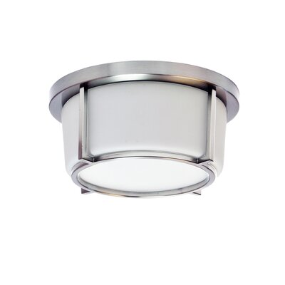 Jimmie 1-Light LED Flush Mount Fixture Finish: Polished Chrome