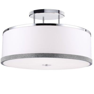 Eurytus 5-Light Semi Flush Mount