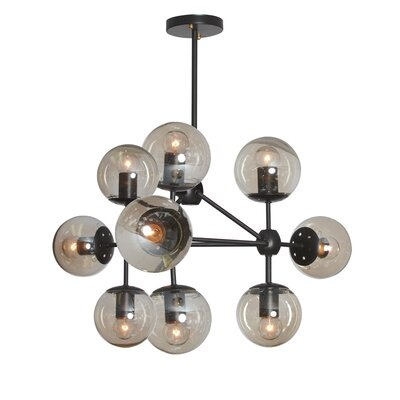 Lyle 9-Light Triangular Sputnik Chandelier