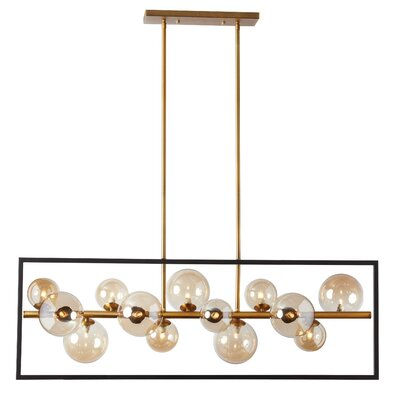 Cortright 13-Light LED Kitchen Island Pendant